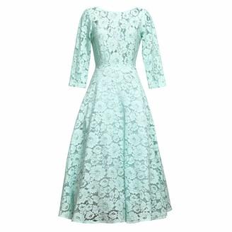 Matsour'i Lace Dress Vicktoria Mint