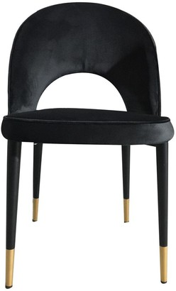 Future Classics Furniture Guy Dining Chair Black Velvet