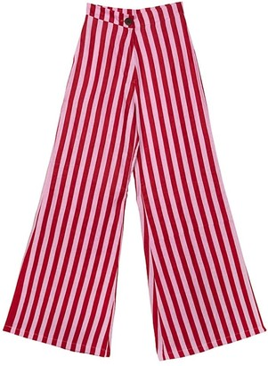 State Of Georgia The Boardwalk Pants In Whippy Red