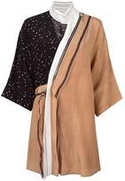 3.1 Phillip Lim mix print kimono dress