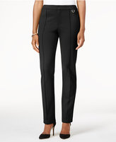 Charter Club Ponte Slim-Leg Pants, Only at Macy's
