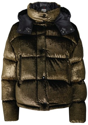 Moncler Caille Metallic Padded Jacket