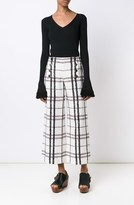 Derek Lam Wide Leg Sailor Pant