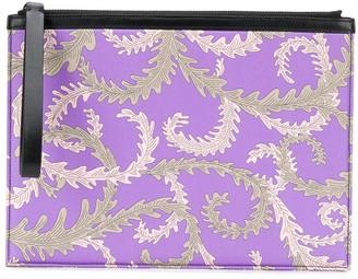 Emilio Pucci x Koche printed clutch