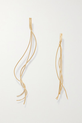 COMPLETEDWORKS Gold-plated Earrings - one size