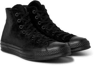 Converse Chuck 70 Velvet High-Top Sneakers