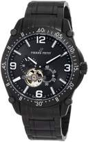 Pierre Petit Men's P-803B Serie Le Mans Automatic Skeleton Black PVD Stainless-Steel Bracelet Watch