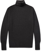William Lockie - Oxton Slim-fit Cashmere Rollneck Sweater - Charcoal