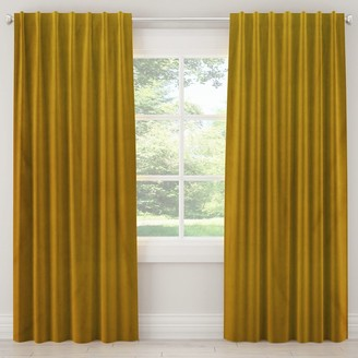 Lulu & Georgia Citronella Velvet Curtain Panel