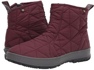 Bogs Snowday Low (Dark Green) Women's Rain Boots