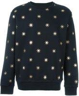 Palm Angels star print sweatshirt - men - Cotton - S