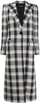 Dolce & Gabbana single buttoned check coat
