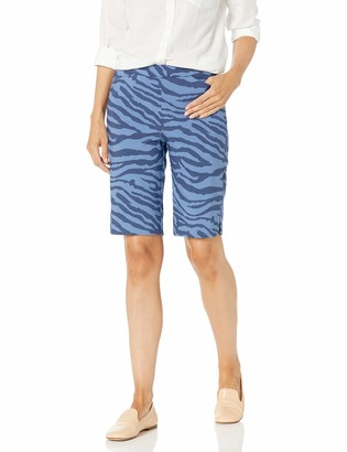 Tribal Women's Pull ON Cuffed Ankle Pant