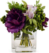 The French Bee 7 Anemones in Vase, Faux