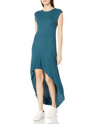 good hYOUman Women's Alexis Atlantic Deep Hi-Low Dress Medium