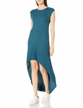good hYOUman Women's Alexis Atlantic Deep Hi-Low Dress Small