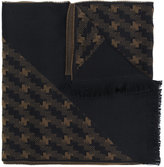 Versace woven patterned scarf
