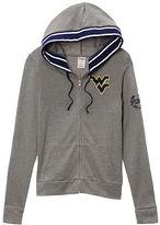 PINK West Virginia University Perfect Full Zip Hoodie