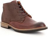 Ecco Men s Kenton Vintage Leather Plain-Toe Boots