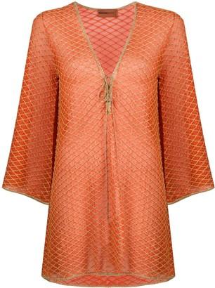 Missoni Mare Net Overlay Dress
