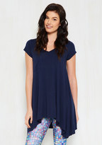 A Crush on Casual Tunic in Navy in M