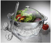 Prodyne 4Pc Acrylic Salad Bowl Set With Dome Lid