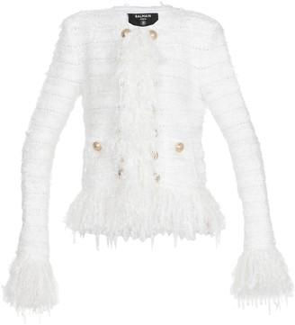 Balmain Jacket With Fringes