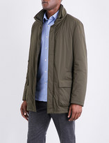 SLOWEAR Stand-collar shell jacket