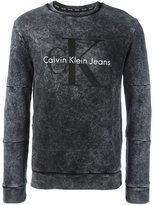 Calvin Klein Jeans 'Marble' sweatshirt
