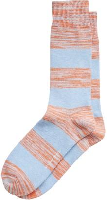 Banana Republic Rugby Marl Stripe Socks