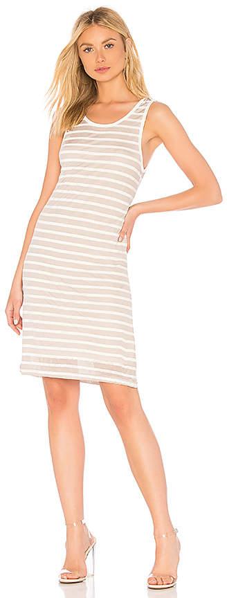 Splendid Linen Shadow Stripe Dress