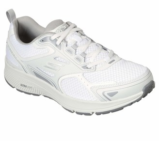 Skechers Go Run Consistent-Performance Running & Walking Shoe Sneaker White/Grey