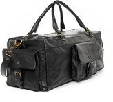 Handmade Leather Carry-On Duffel Bag