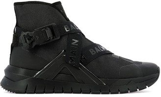 Balmain B-Troop High Top Sneakers