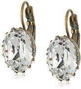 "Sorrelli Pearl Luster"" Crown Jewel French Wire Drop Earrings"