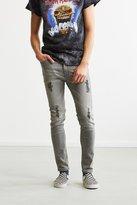 BDG Destructed Grey Super Skinny Jean