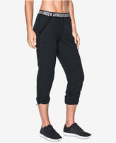 Under Armour UpTown Knit StudioLuxandreg; Cropped Joggers