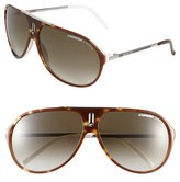 Carrera Men's Eyewear 'Hots' 64Mm Aviator Sunglasses - Black
