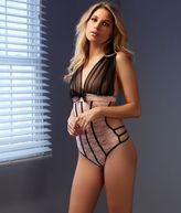 Shirley of Hollywood Stretch Lace Teddy Lingerie - Women's