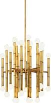Jonathan Adler Meurice 30 - Light Sputnik Modern Linear Chandelier Finish: Antique Natural Brass