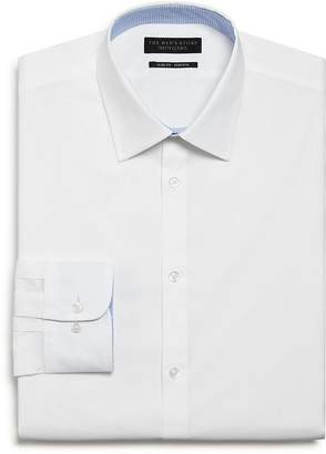 Bloomingdale's The Men's Store at The Men's Store Solid Stretch Slim Fit Dress Shirt