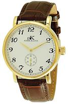 Adee Kaye AK9061-MG-SV Men's Vintage Mechanical Watch