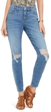 Style&Co. Style & Co Destructed Curvy Skinny Jeans, Created for Macy's