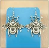 Nobrand No brand Simple Vintage Big Bee Charm Dangle Earring, Charming Drop Earring