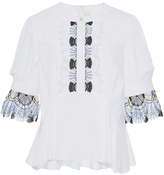Peter Pilotto Cotton Lace Blouse