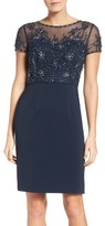 JS Collections Women's Embellished Sheath Dress