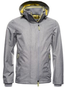 Superdry Men's Tech Hood Pop Zip Sd-Windcheater Jacket