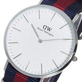 Daniel Wellington Men's Classic Oxford 0201DW Cloth Quartz Fashion Watch
