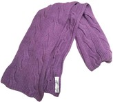 Fabiana Filippi Purple Cashmere Scarves