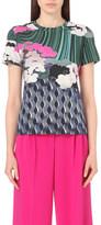 Mary Katrantzou Jewel Cloud-print cotton-jersey t-shirt